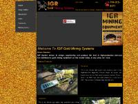 igrminingsystems.com Trommels, Highbanker, Power Sluices