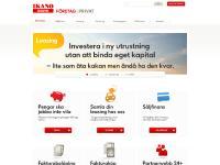 Företagsspar PIN-kod, Startsidan, Säljfinans., Factoring