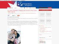 US immigration and green card blog published by Immigration Attorney Gary Goodin