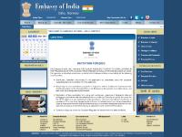 Welcome to Embassy of India - Oslo, Norway
