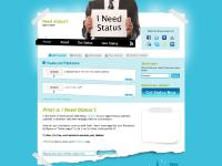 I Need Status: Fresh, clever messages for your social networks | Home