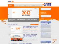 ING for Something Better - ING Sustainability's homepage