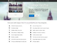 Home | Instagrate Pro | The best Instagram WordPress plugin to publish images from