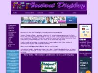 Instant Display Teaching Resources - A teacher resource website with a collection of Downloadable Posters for classroom displays, PowerPoint Presentations and more