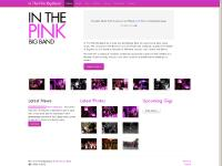 inthepinkband.co.uk Cementing Futures, Cementing Futures, Website Design