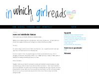 in which a girl reads
