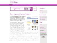 iOffer Login | iOffer Login Problems