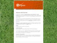 ip-open.se Program, Tävlingsregler, Huvudsponsorer