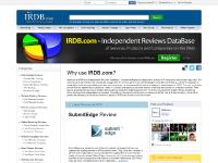 IRDB.com - No.1 Independent Review of Services, Products and Companies in the Web