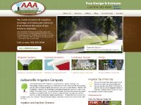 AAA Irrigation and Drainage | Landscaping & Sprinkler Systems Jacksonville FL