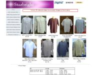 Starbright: From only £16.85 Grandad shirts made by the Collarless Shirt Co.