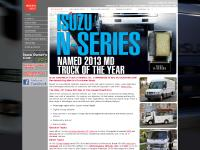 Isuzu Commercial Vehicles - Low Cab Forward Trucks - Commercial Vehicles - Home Page