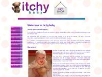 Itchy baby home page. Baby Eczema website. Infantile/Atopic Eczema Help
