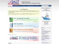 Publications of the Japan Association for Language Teaching | JALT Publications