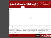 Jan Andersson Måleri AB Landsbro sävsjö vetlanda nässjö ...