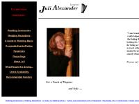Harpist Juli Alexander Home