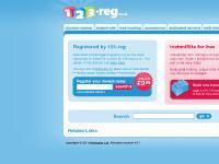 Domain name registration & web hosting from 123-reg