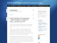 New Zealand Job Blog - www.jobblog.co.nz