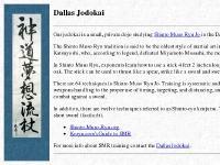 jodokai.org Shinto Muso Ryu, Shindo Muso Ryu, Jo