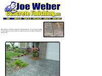joeweberconcrete - Joe Weber Concrete Finishing