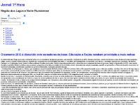 jornalbuziano.com Jornal 1ª Hora, Editoriais, O Jornal