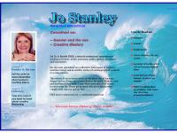 Jo Stanley Welcome page
