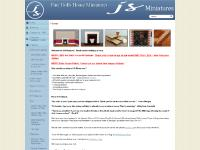 jsminiatures.co.uk Georgian, fireplaces, Modern