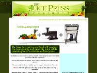 Gerson recommended juicer, alternative to norwalk, juice press, hydraulic juicer, champion