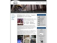 jvnw.com stainless steel tanks, stainless steel vessels, stainless steel