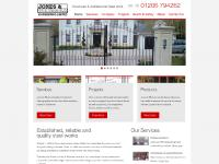 jw-fabrications.co.uk Services, Who we work with, Projects