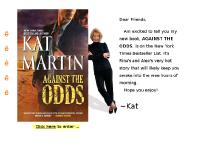 Kat Martin, New York Times bestselling author