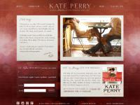 kateperry.com Kate Perry, Kate's World, website