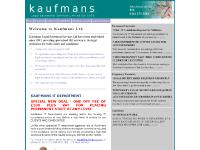 kaufmans.co.uk Kaufmans, Legal, Secretarial
