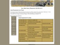 Loaders, Misc Equipment, Parts, Tires