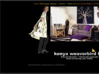 The Kenya Weaverbird - Naturally Beautiful - Individually Appliqued Home Furnishings and Clothes