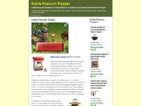 Kettle Popcorn Popper, Kettle Popcorn Maker, West Bend, Whirley