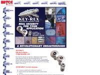 Bryce fastener, the leader in custom, tamperproof Keyed-lok® security screws and security keys