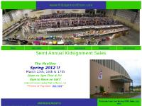 kidsignmentexpo.com Consignor Info, Volunteering, Registration