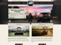 kiotitractor.com NEW PRODUCTS, TRACTORS, UTVS