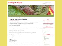 Kitsap Cuisine | how to shop for, cook, eat, and grow local food in Kitsap County