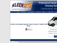 kleenrite.co.uk Special Offers, Services, Domestic