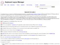 Keyboard Layout Manager