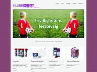 klubbkonsept.se Forside, Om oss, Produkter