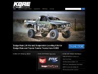 Dodge Ram Suspension Lift Kits | Truck Leveling Kits - KorePerformance.com