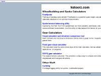 kstoerz.com FreeSpoke, Spoke tension balancing utility, Fixed gear visual calculator
