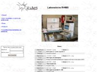 Laboratoire RHMS - Accueil