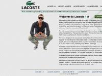 Lacoste Shoes, Lacoste Polo, Lacoste 4 U, Lacoste Jackets