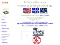 LaFerriere and Charron Family Genealogy
