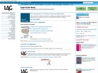 Legal Action Group homepage