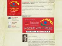 lagrandevireeartistique.qc.ca Voir les oeuvresdes artistes, Voir la carteroutière, Formulaired'inscription